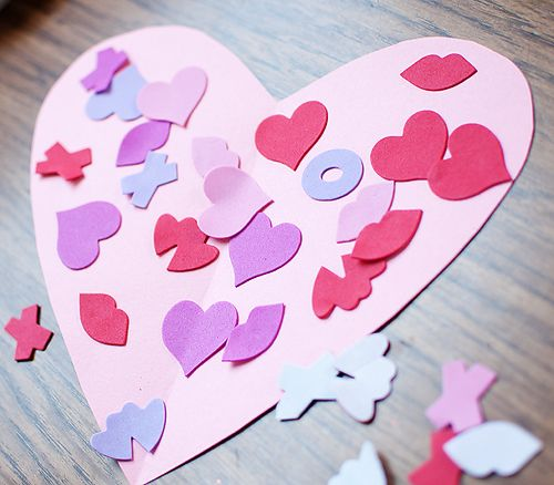 260 best valentines day images on pinterest valantine for Easy heart crafts