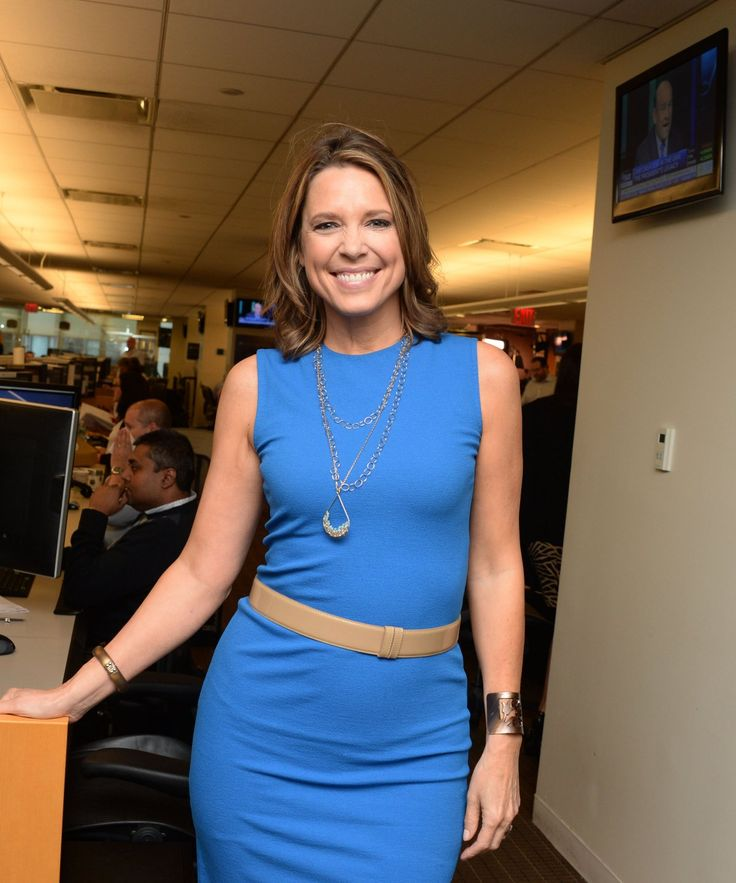 Sports journalist Hannah Storm came by.