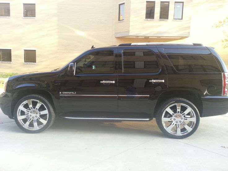 22 inch chrome GMC wheels | Gmc yukon, Gmc yukon denali ...