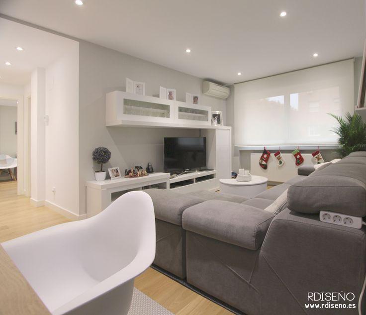 M s de 1000 ideas sobre planos de casas prefabricadas en - Decorar salon en l ...