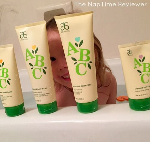 The NapTime Reviewer: NEW Natural Baby Skincare Products from Arbonne