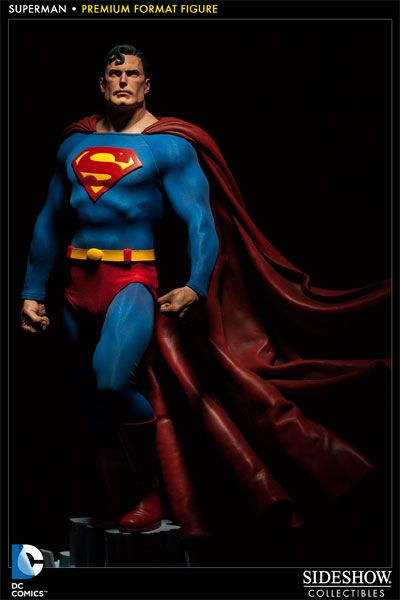 Superman Premium Format Figure - Sideshow Collectibles - SideshowCollectibles.com