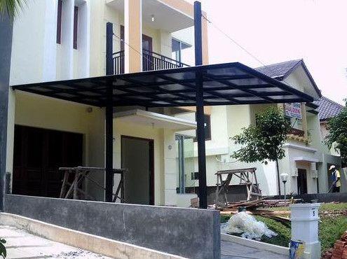 Desain Kanopi Rumah Minimalis Terbaru | Harga,gambar,dan bahan besi