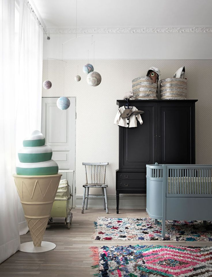 my scandinavian home: children's room in a striking Malmo pad with attitude!