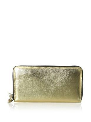 20% OFF ALEXANDER MCQUEEN Women's Continental Zip Wallet, Gold