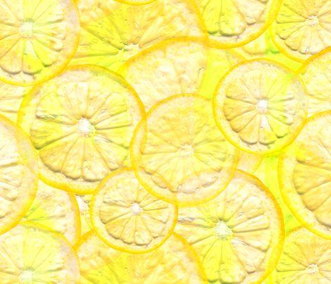Fiaba Lemonade fabric by fiaba_fabrics on Spoonflower - custom fabric