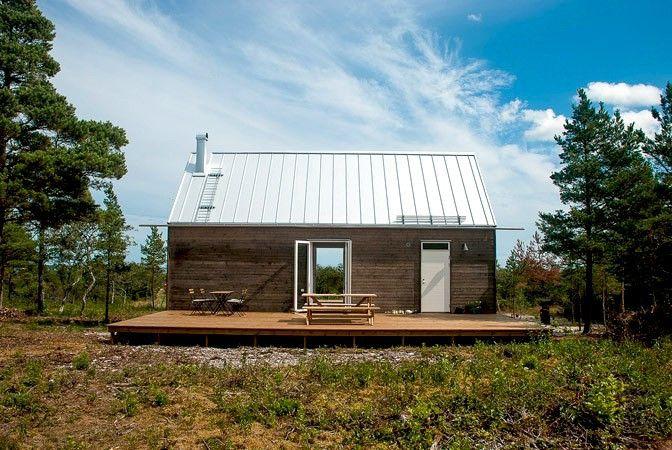 ekologiska hus massivträ