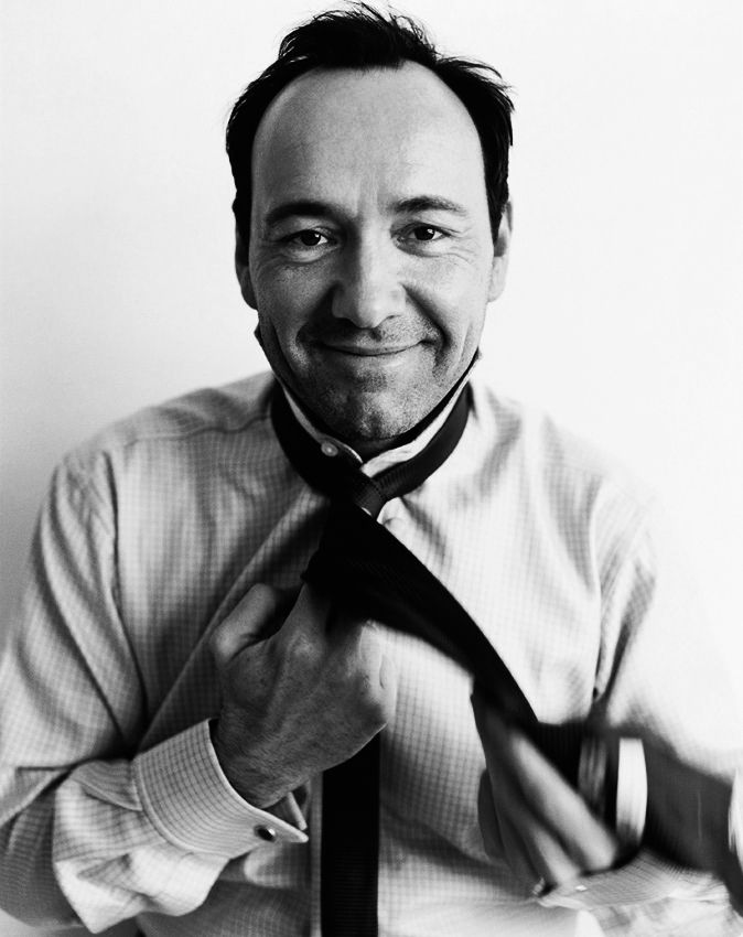 Kevin Spacey - liking him a LOT in House of Cards on Netflix