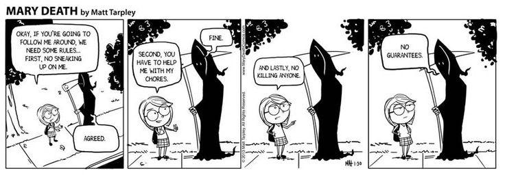 Mary Death :: 3 | Tapas Comics - image 1