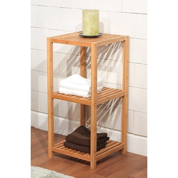 simple living bamboo 3 tier shelf by simple living bamboo bathroom accessoriesbathroom