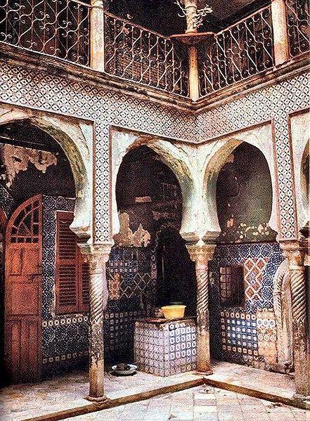 Kasbah of Algiers, Algeria or Casbah d'Alger - UNESCO World Heritage Site - Cultural Site
