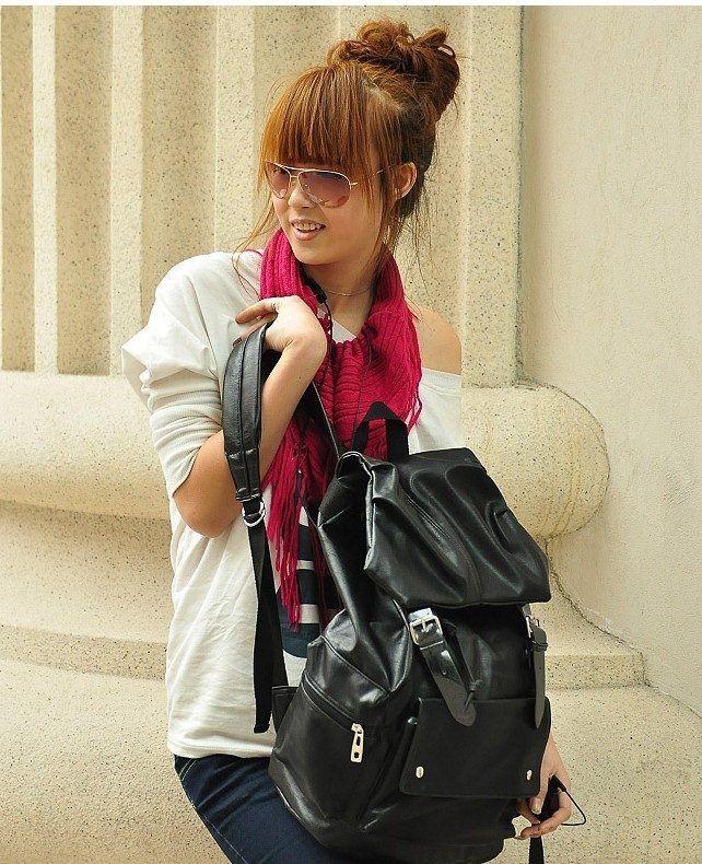 Jual Tas Ransel Hitam, Tas Online Wanita - 20092 Dark Brown  Dimensi backpack    Tinggi : 43cm   Lebar : 41cm   Tebal : 12cm   Cara Buka : Tali + Magnet  Tali Panjang : Tidak Ada   Bahan : PU Berat : 800gr