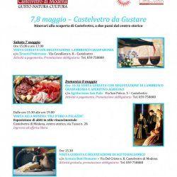 PROPOSTE WEEKEND - 7,8 Maggio - Castelvetro di Modena