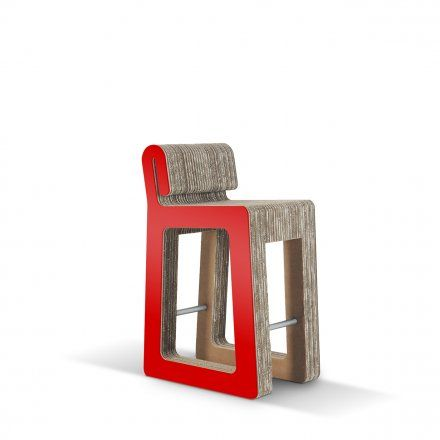 Carton Factory Seduta alta Hook Stool Lovepromo