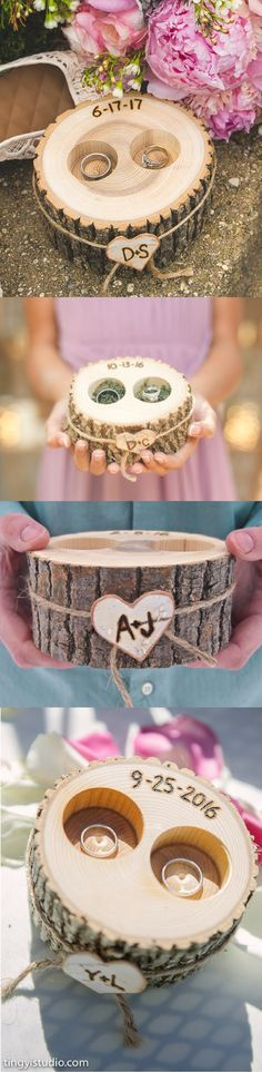 It is perfect!! Didn't want the usual pillow, this is a great alternative. Arrived so quickly. #rusticwedding #rusticdecor #rusticweddingdecor #weddingdecor #weddingring #personalizedweddingaccessories #affiliate
