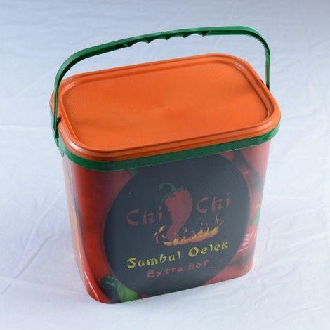 Sos Sambal Oelek extra hot Chi-Chi 10kg | Asian Food