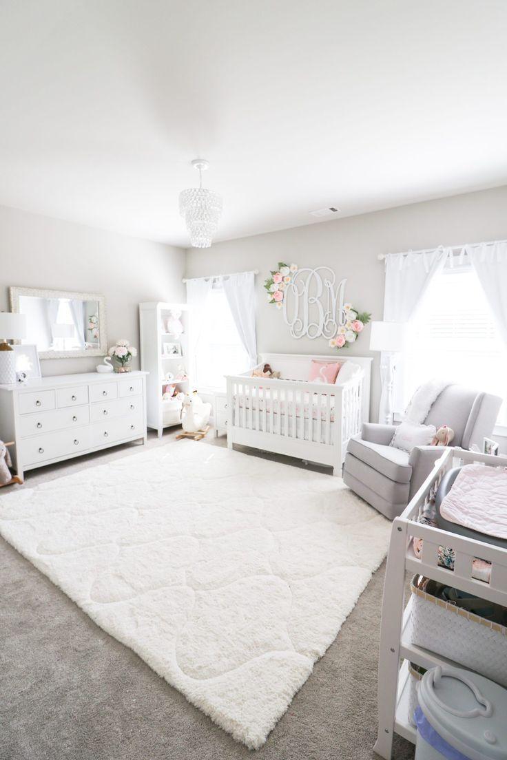 Olivia Nursery Reveal – Morgan Bullard – #Bullard #Morgan #Kindergarten #Olivia #Re   – Kinderzimmer