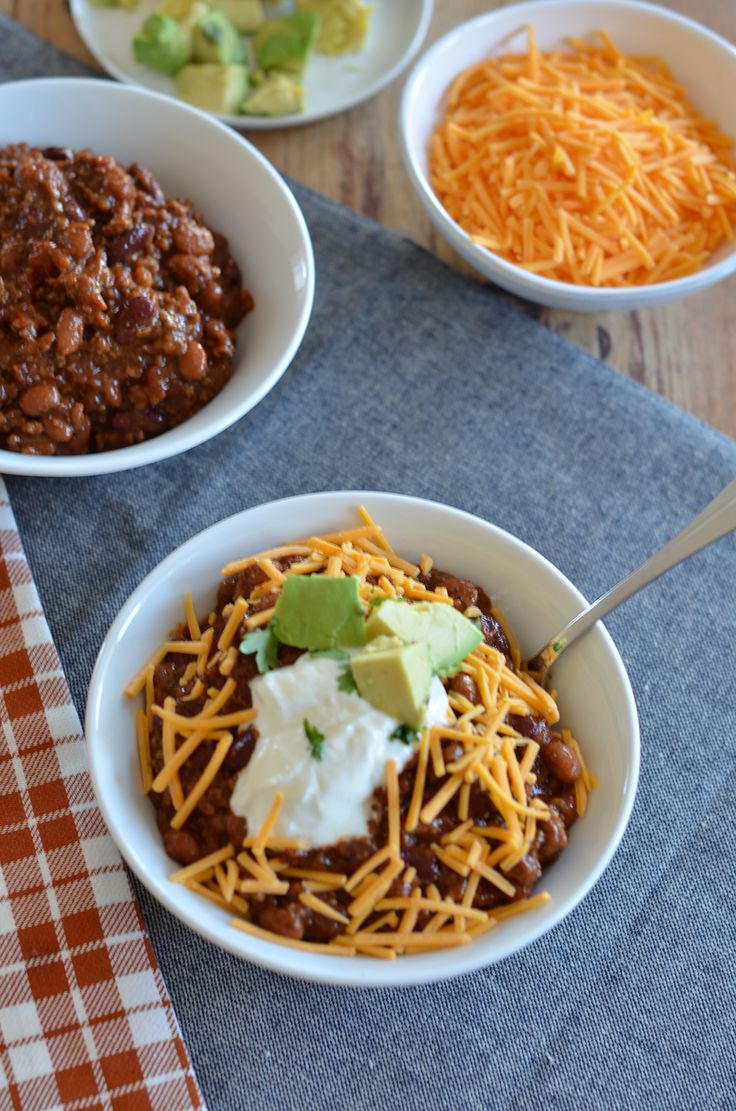 1000 Ideas About Classic Chili Recipe On Pinterest Slow
