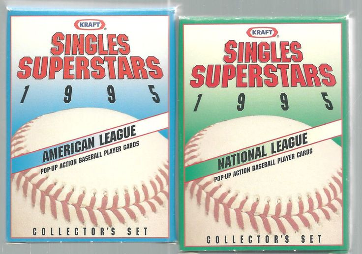 Baseball Cards 1995 Kraft Superstars American National League 30 Card Set   #Kraft #Various