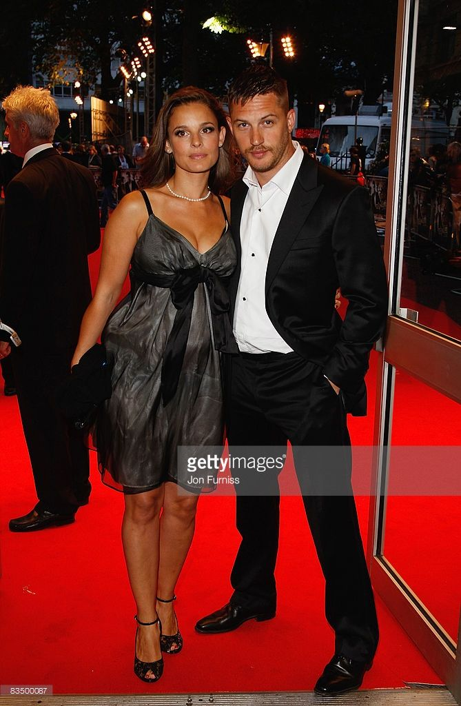 "Tom Hardy & Rachael Speed attend the Premiere of ""Rocknrolla"" -Sept 2008"