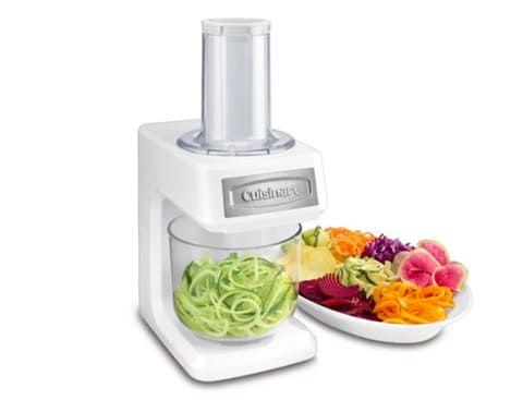 クイジナート、野菜を多彩な切り方でスライスできる「ベジタブル スパイラルスライサー」 ベジタブル スパイラルスライサー「SSL-100J」