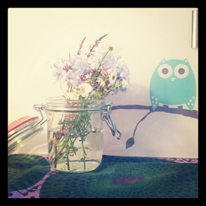 Flowers + Owl