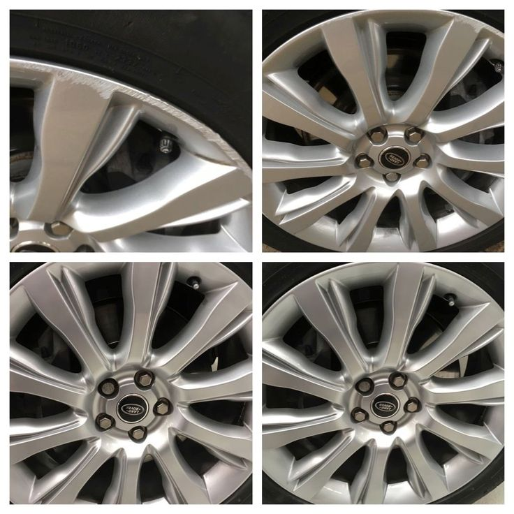 The #RangeRover #alloy wheel repairs go round and round... Look at the #detailing. Perfect #Detail Ltd. Automotive alloys, paint, vinyl, velour, glass, leather, tools, training and a ver special Franchise van waiting for you. Call Glenn on 01932 835 475 #motorhappy
