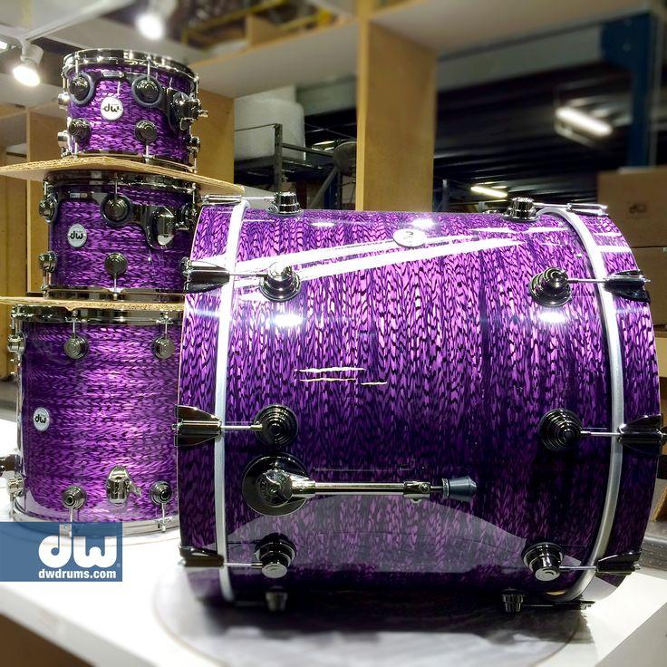 Purple Silk Onyx #dwdrums #thedrummerschoice