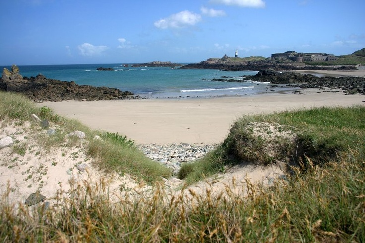 Arch Beach   summer holidays in Alderney~ how could you not love this?!