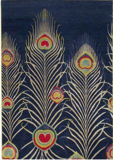 Art Deco Peacock Pattern