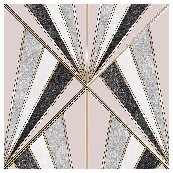 Tamara Egem Auf Instagram Die Goldenen 20er Jahre Sind Meine Absolute Lieblingsara Deshalb In 2020 Artdeco Muster Art Deco Illustration Musterkunst