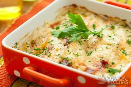 Receita de Escondidinho de batata com presunto e queijo em receitas de legumes e verduras, veja essa e outras receitas aqui!