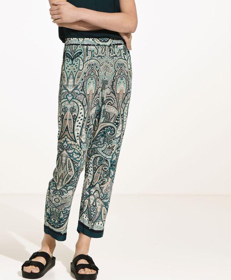 Oysho - Pantaloni stampati