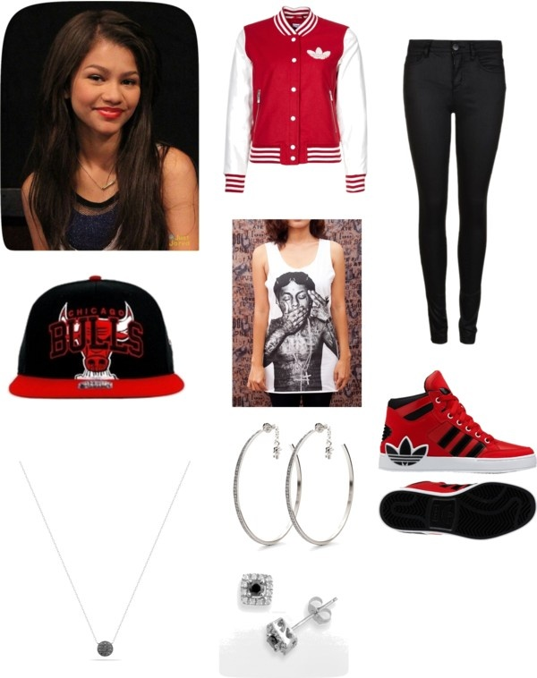 """Inspired by Zendaya Coleman's style"" by mahogoneyb ❤ liked on Polyvore"