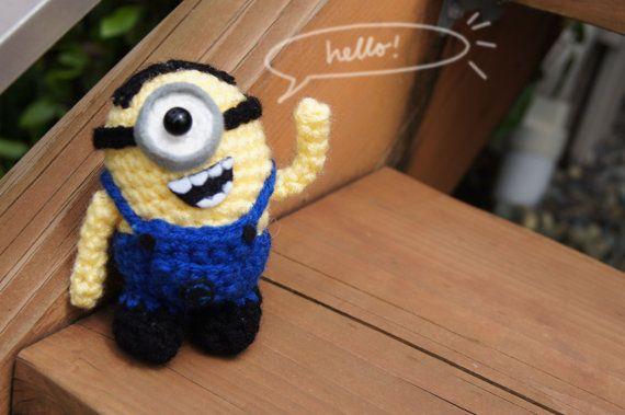 Mejores 41 imágenes de Minions Crochet en Pinterest | Crochet de ...