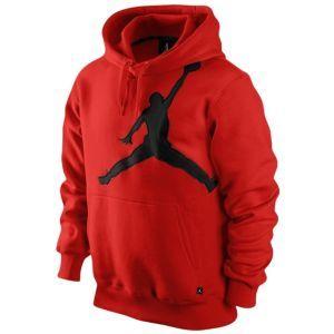 Jordan Jumbo Jumpman Hoodie - Men's - Basketball - Clothing - Obsidian/Light Photo Blue/White  Size medium
