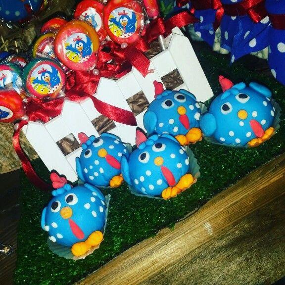 Cakepops gallina pintadita