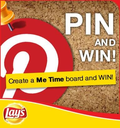 Lee creates a special #LaysSouthAfrica Me Time Pinboard, initiated with the first pin of  Lays very own Pinboard competition AD...and holds thumbs this will secure real me time by being a winner in this fun competition!  Here Goes...Lay it! (Lee opened up a Pintrest account purely for #LaysSouthAfrica after all:)