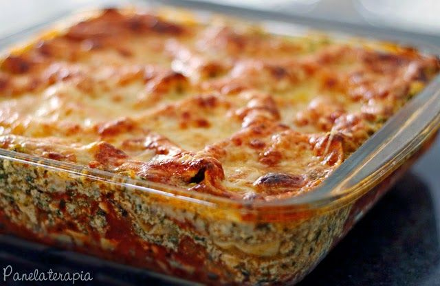 PANELATERAPIA - Blog de Culinária, Gastronomia e Receitas: Lasanha de Ricota com Espinafre