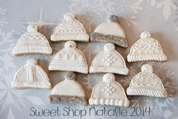 75 Best Images About Stocking And Mitten Decorated Cookies