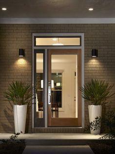 mid century modern exterior lighting - Google Search