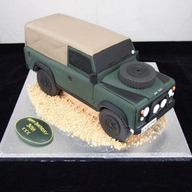Range Rover Birthday Cake
