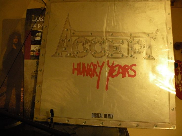 Accept - Hungry Years (GERMANY) FULL ALBUM VINYL RIP