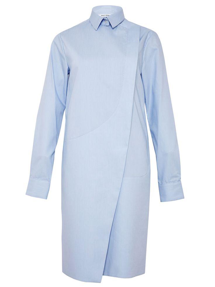 Paco Rabanne Womens Cotton Shirt Dress   LN-CC