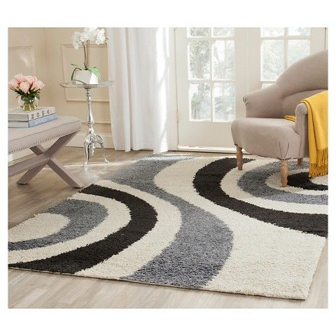 safavieh art shag ivory grey area rug x beige offwhite size x abstract