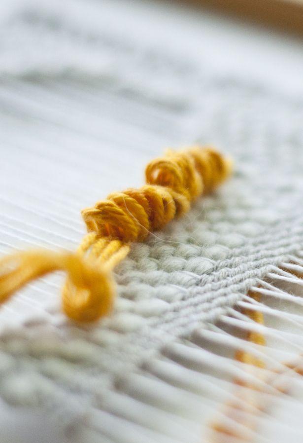 Weaving Techniques || The Pile Weave (Loop Weave)