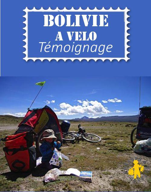 La Bolivie en vélo et avec bébé... C'est le témoignage d'éveil nomades sur notre blog Voyage en famille