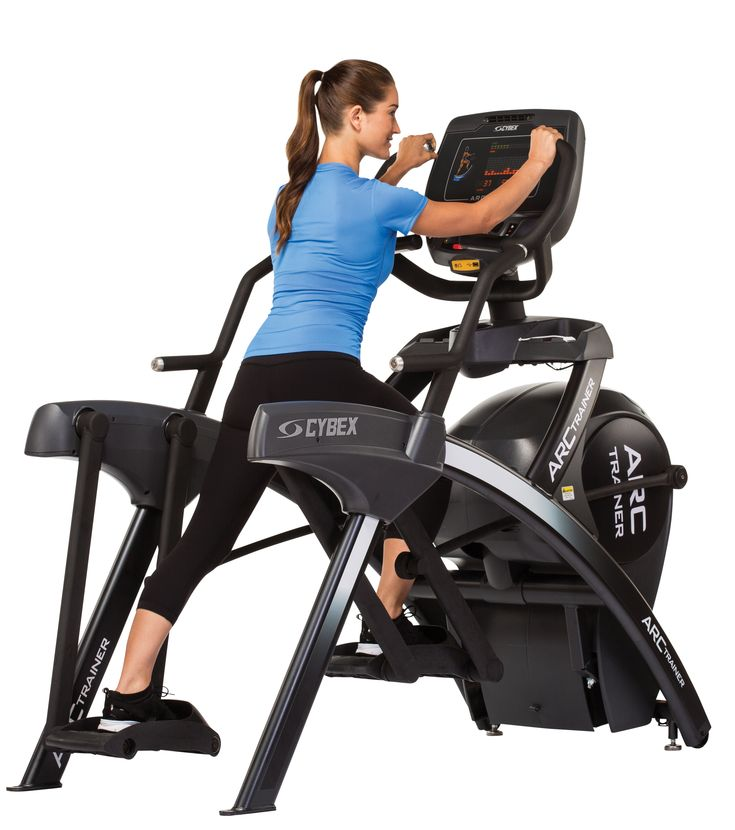 """This machine will give you a great """" I'm going to die"""" workout. The results are worth those """"my heart is going to explode"""" moments..770A Arc Trainer for HIIT (High Intensity Interval Training)"""