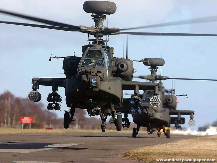 AH-64 Apache USA Army's Primary Attack Helicopter |Jet Fighter Picture