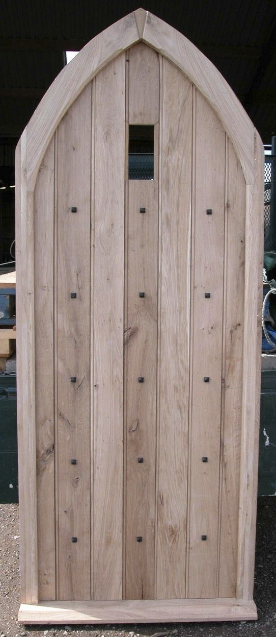 Pyramid Studs on a newly made oak door //.priorsrec. & 59 best Traditional Nails and Studs images on Pinterest | Door ...